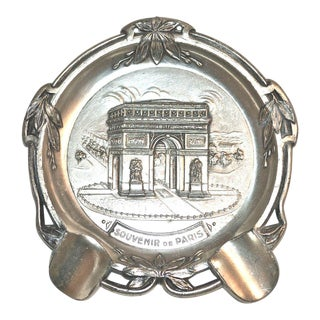 1960s Paris Arc De Triomphe Ashtray