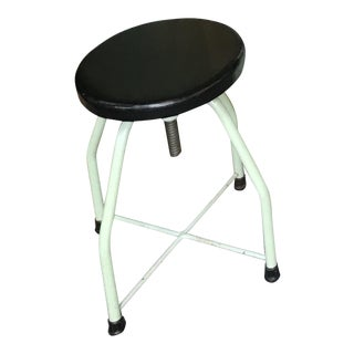 Vintage Adjustable Medical Stool