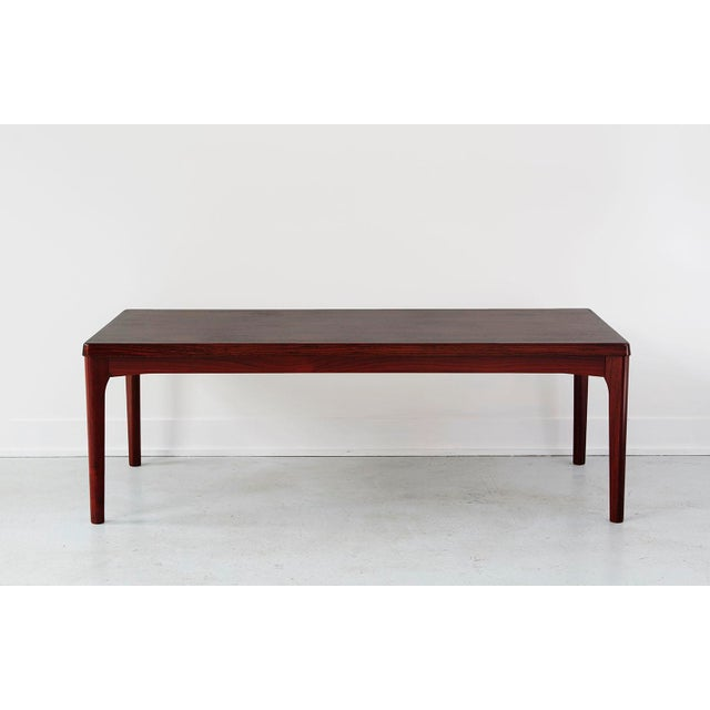 Image of Danish Rosewood Coffee Table by Henning Kjaernulf