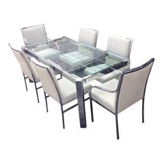 Mid-Century Milo Baughman Dining Set