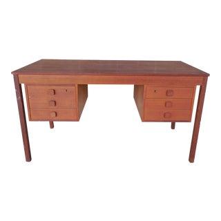 Danish Modern Teak Writing Desk