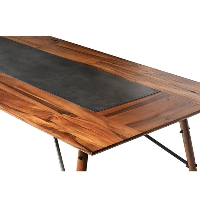 Slate Dining Room Table: Slate Inlay Dining Table