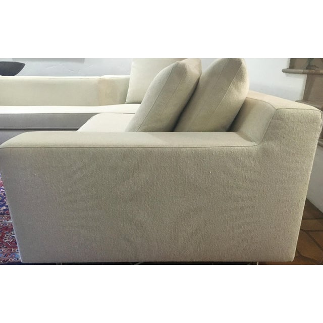 Vioski Shea Sectional With Walnut Console - Image 4 of 13