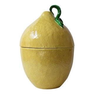 Midcentury Italian Ceramic Lemon Tureen
