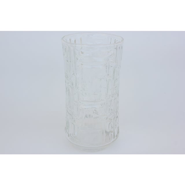 Artica Abstract Geometric Textured Glass Tumblers - Set of 10 - Image 5 of 5
