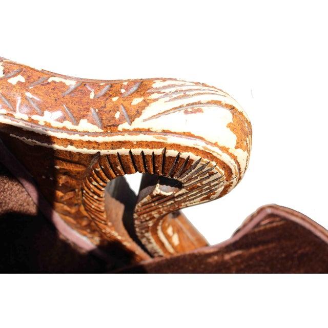 Vintage Mohair Velvet Chair - Image 9 of 10