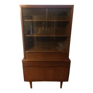 Stanley Furniture Mid-Century Danish Modern Hutch