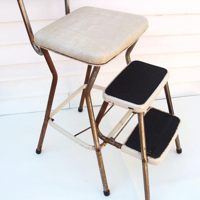 Metal Kitchen Chair Folding Stepstool Chairish