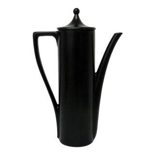Black Porcelain Teapot