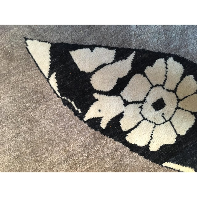 Madeline Weinrib Putty Lark Tibetan Wool Rug - 7′10″ × 10′1″ - Image 4 of 9