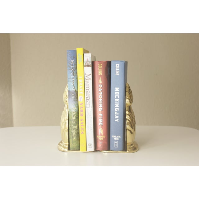 Brass Pineapple Bookends- A Pair - Image 6 of 7