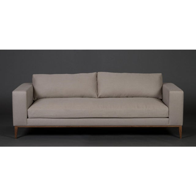 Elite Leather Modern Sofa Amp Chair Set Chairish