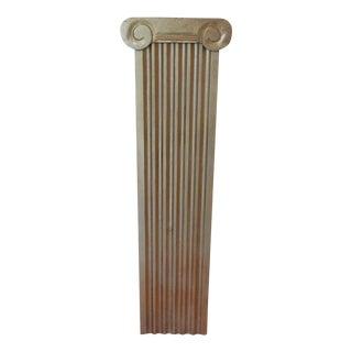 Large Doric Guilded Wooden Column