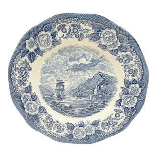 Royal Warwick Nautical Blue & White Plates - Set of 5