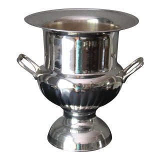 Silver Plate Champagne Bucket