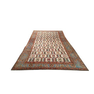 Antique Persian Malayer Hand Made Knotted Rug - 6′9″ × 14′