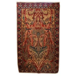 Wool Mahal Designed Rug - 4′ × 7′2″