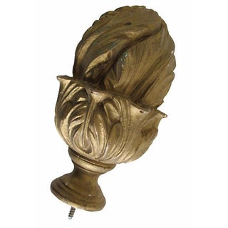 Architectural Gilded Wood Finial