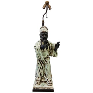 James Mont Style Figural Table Lamp