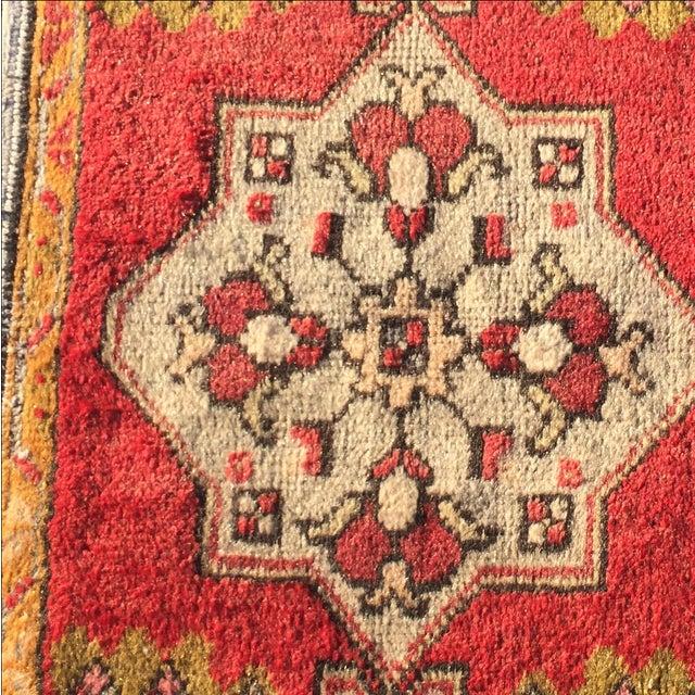 "Vintage Anatolian Persian Rug - 1'7"" X 3'4"" - Image 5 of 7"