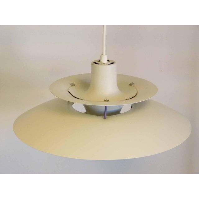 poul henningsen for louis poulsen ph5 ceiling light chairish. Black Bedroom Furniture Sets. Home Design Ideas