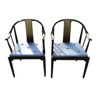 Hans J. Wegner China Chairs for Fritz Hansen - a Pair
