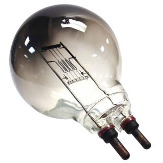 Vintage CINEMA Spotlight Light Bulb. Display As Sculpture. EX Paramount Studios. Circa 50's