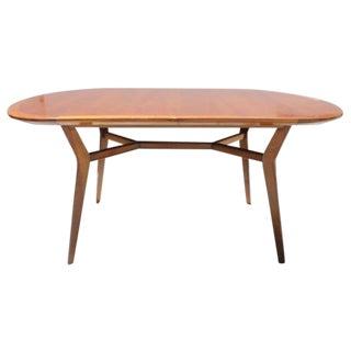 Vintage 1960s Danish Teak Dining Table