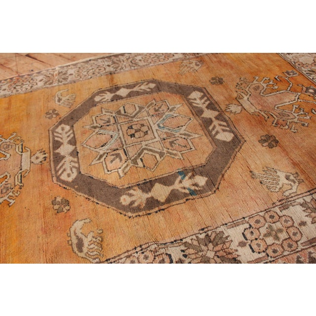 Turkish Hand Knotted Family Rug - 3′10″ × 5′9″ - Image 4 of 7