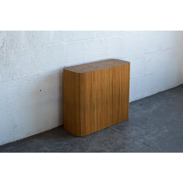 Image of Wood Dowel Accent Table