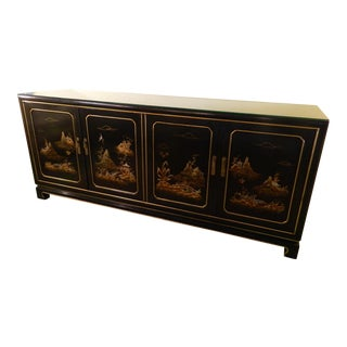 John Widdicomb East Asian Style Sideboard Buffet