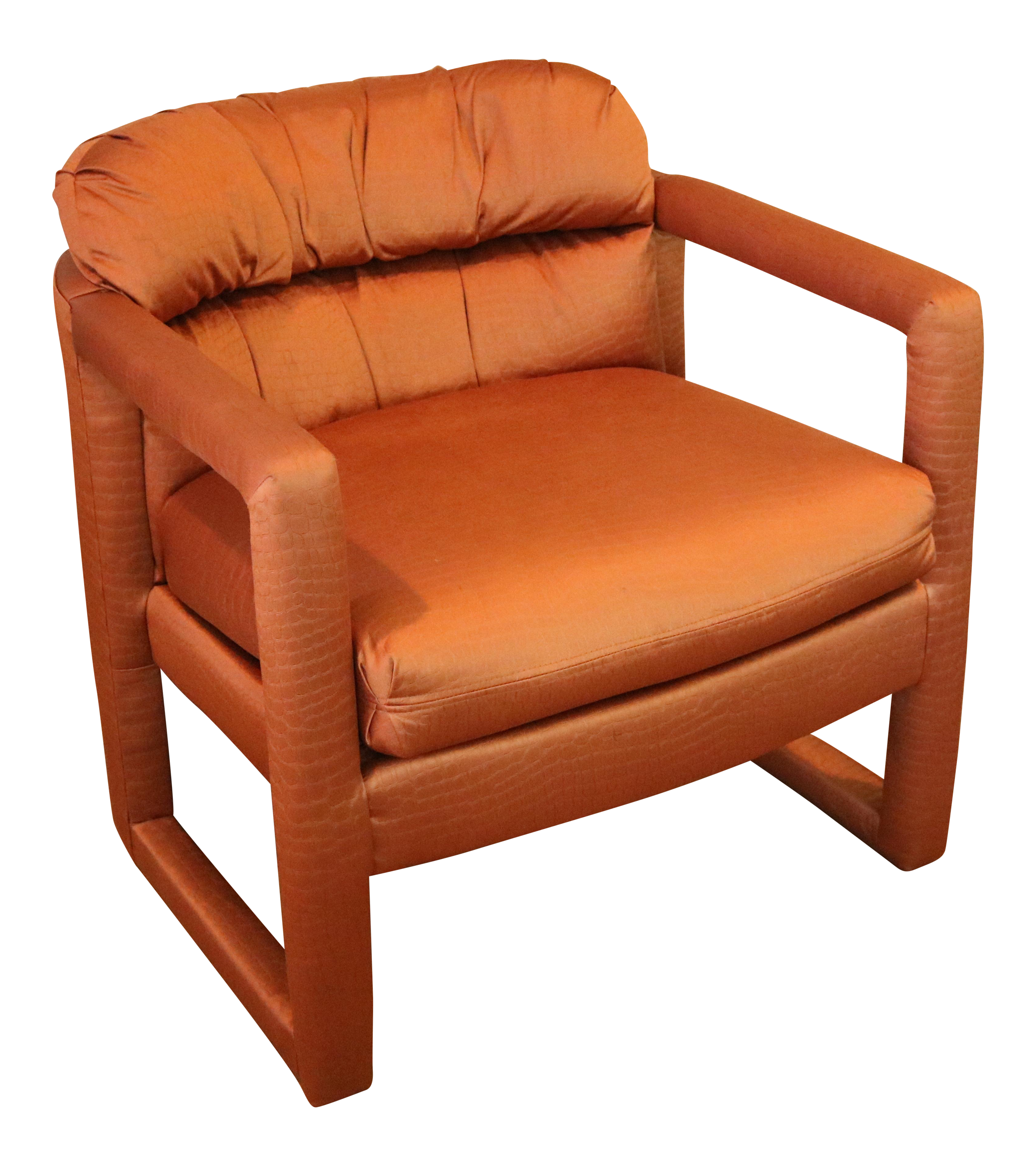 Milo Baughman Drexel Heritage Barrel Lounge Chair