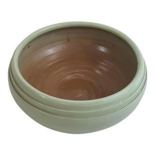 Celadon Green Glazed Stoneware Bowl