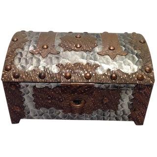 Handcrafted Metal Trinket Box