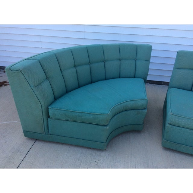 Vintage 1950's Sectional - Image 3 of 5