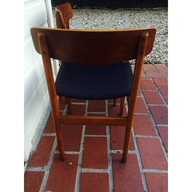 Mid-Century Modern Dining Chairs- A Pair - Image 6 of 6