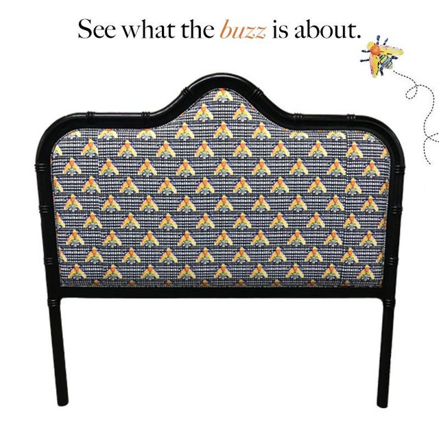 Brooke Wright Designs Queen Bamboo Headboard - Image 2 of 3