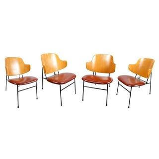 Mid-Century Ib Kofod-Larsen Chairs