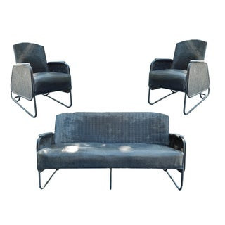 Deco Patio Chairs and Settee - 3