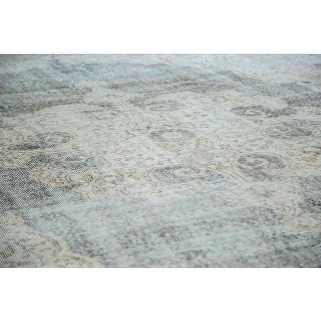 "Distressed Scalloped Oushak Carpet - 6'10"" x 10'3"" - Image 5 of 5"