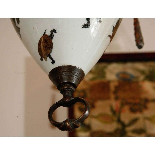 European Japanese Style Porcelain Pendant - Image 10 of 10