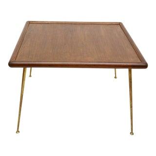 Robsjohn-Gibbings Table Brass Legs