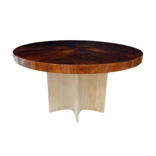 1940s Vintage French Round Dining Table