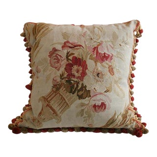 Antique Aubusson Pillow