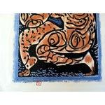Image of Mid-Century Japanese Woodblock Print 2 by Munakata