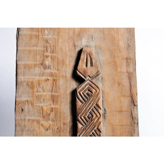 Carved Wooden Door Panel on Stands - Image 10 of 11