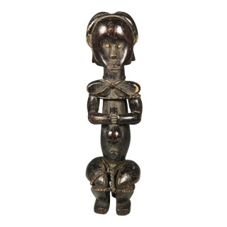 African Art Tribal Art Fang Wooden Statue From Gabon