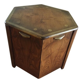Lane Wooden Storage Side Table