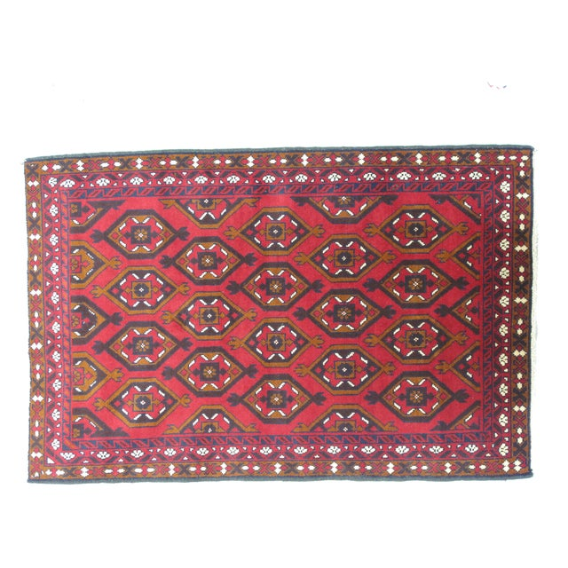 Baluch Rug, 3' x 5' - Image 2 of 3