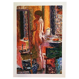"Pierre Bonnard ""Nude at Mirror"" Print"